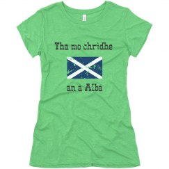Scottish Gaelic - My heart is in Scotland