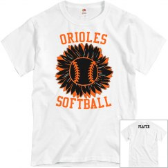 Orioles Softball Sunflower