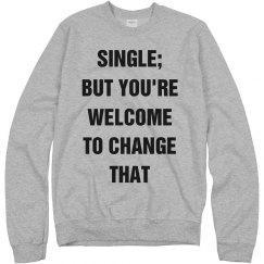Single Lady Valentine's Day Text