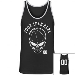 Custom Order Team Name, Number Basketball Tank Top