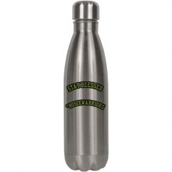 Stay blessed water bottle