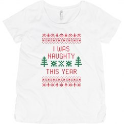 Naughty List This Year Maternity