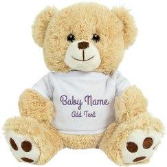 Custom Baby Unicorn Plush