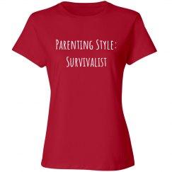 Parenting Style: Survivalist