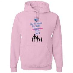 JJ FWR OTH Unisex Pink Hoodie