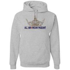 All American Pageants Sweatshirt Grey