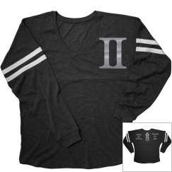 Gemini Zodiac Sporty Ladies Long Sleeve