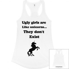 UGLY GIRLS DON'T EXIST