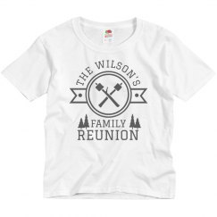 Custom Family Camping Reunion Tee