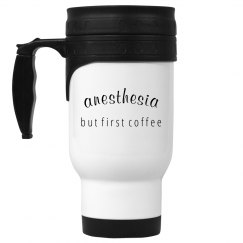 Travel mug- Anesthesia