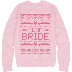 Team Bride Ugly Sweater