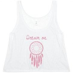 Dreamcatcher Crop Top
