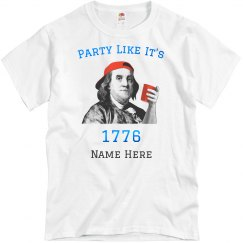 Custom Party Like It's 1776