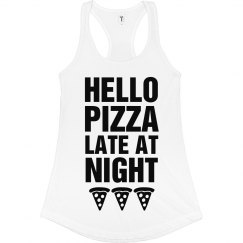 Hello Pizza Late At Night Adele