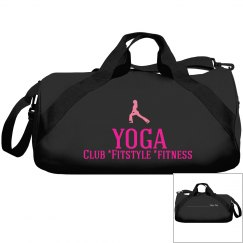 Your own Club Fitstyle Fitness Yoga Name bag