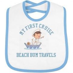 Baby bib first cruise