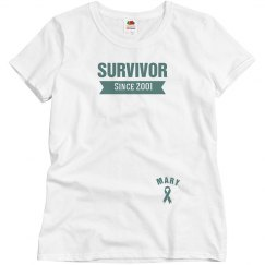 Teal Ribbon Survivor