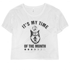 FullMoon Werewolf Time Of The Month