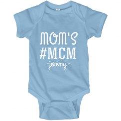 Mom's #MCM Custom Name Onesie