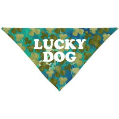 Lucky Dog All Over Print Bandana