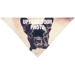 Custom Photo Pet Bandana
