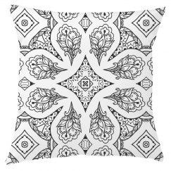 Mandala All Over Print Pillow