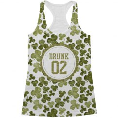 Drunk 2 St Pattys Drinking Tanks