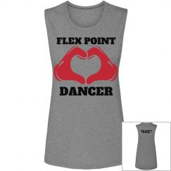 Flex Point Dancer Muscle Tee