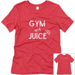 Gym & Juice Soft T-shirt (White Text)