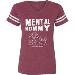 Mental Mommy Vintage T