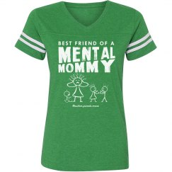 Bestie Mental Mommy Vintage T