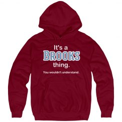 Its a Brooks thing