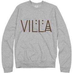 Villa Name Logo Sweatshirt