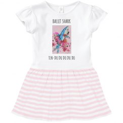 Ballet shark ten-du toddler dress