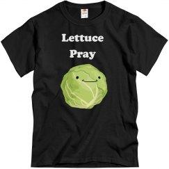 Lettuce Pray Men's T-shirt