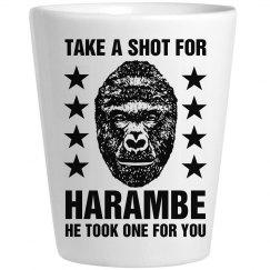 Take A Shot For Harambe Gift