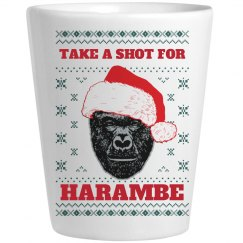 Take A Shot For Harambe Christmas