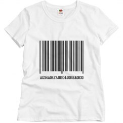 Nani Barcode T shirt