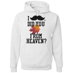 """ I 'Mustache', Did You 'Fall' from Heaven"""