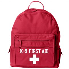 K-9 First Aid Back Pack