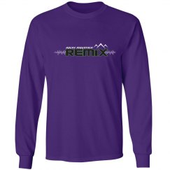 Purple Long Sleeve Tee