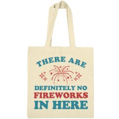 Definitely Not Carrying Fireworks