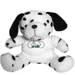 Go Bike -  Plush Dalmatian Gog