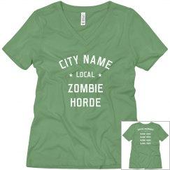 Custom Zombie Horde Member Design