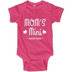 Mom's Mini Custom Baby Onesie