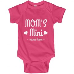 Mom's Mini Custom Baby Bodysuit