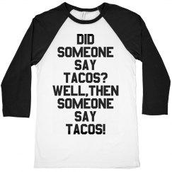 Unisex Taco Love