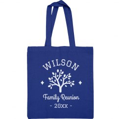 Custom Family Reunion Tree Totes
