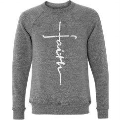 Faith Sweatshirt Grey Triblend
