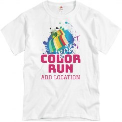 Color Run Personalized Race Team
